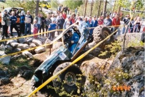 Retroa vuodelta 2002 Off Road Trialia Raisiossa Luukkanen/Silander